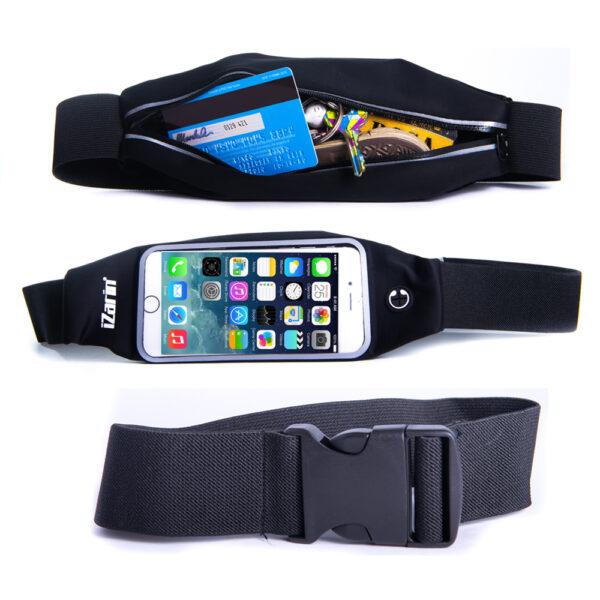 Running Belt Open Bag Front View and Extender
