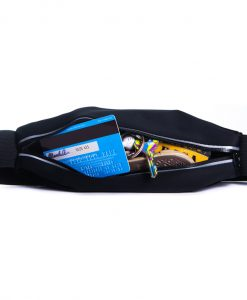 Running Belt Open Zip Back