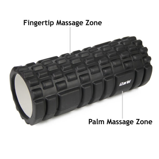Foam Roller Fingertip and Plam Massage Zone