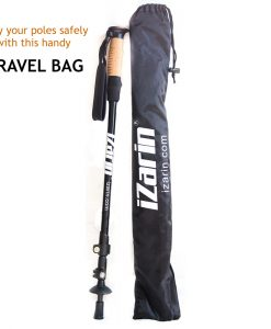 Travel Bag and 1 Nordic walking stick