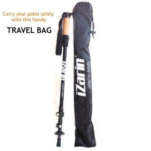 Travel Bag and 1 Nordic walking stick