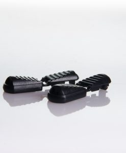 Clips for no-tie shoe laces