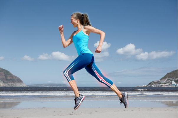 Bone Health Exercises - Woman Running