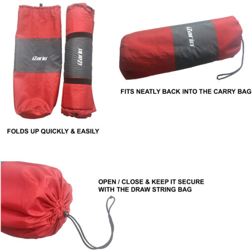 Self Inflating Camping Mat with Portable Carry Bag