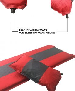 Self Inflating Camping Mat and Pillow Valve
