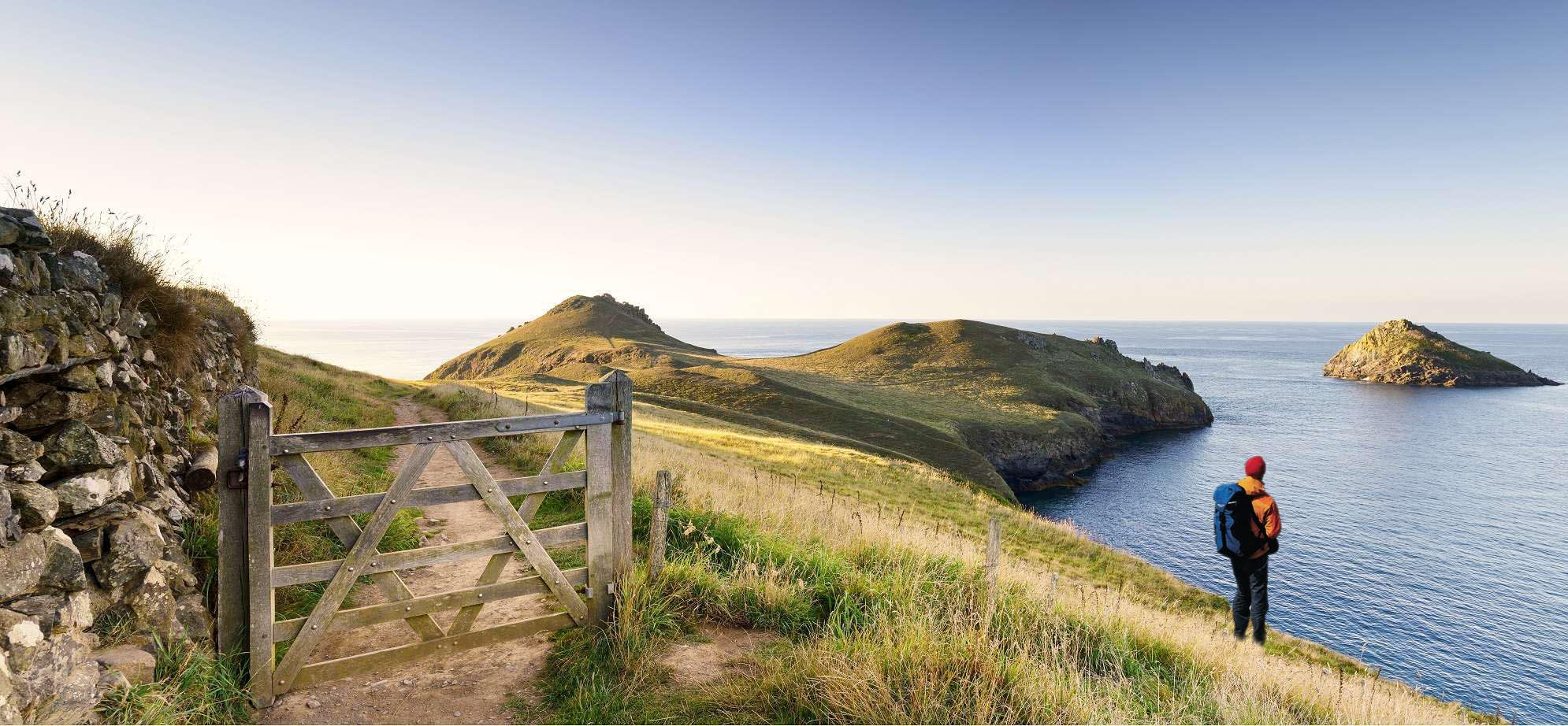 Long Distance Walks in South West Coast Path, West Country in Wales