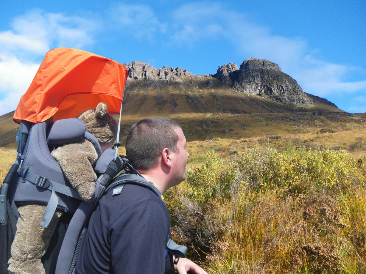 Long Distance Walks in StacPollaidh, Assynt in Scotland