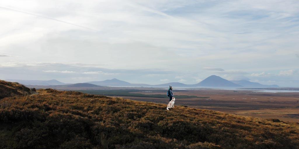 Long Distance Walks in Bangor Trail Co Mayo Ireland
