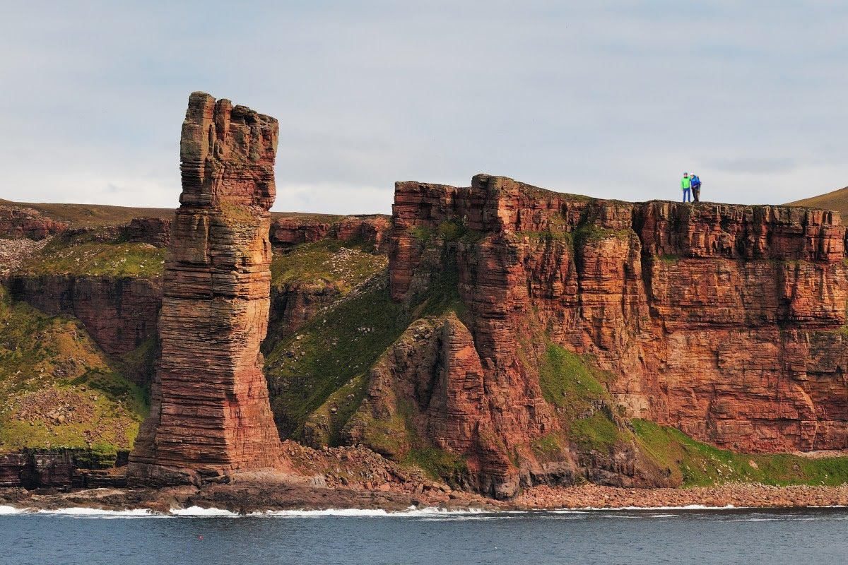 Long Distance Walks in Old Man of Hoy, Orkney in Scotland