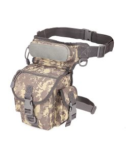 waist drop belt leg bag - ACU