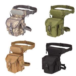 waist drop belt leg bag - Tan, Black, ACU, Army Green