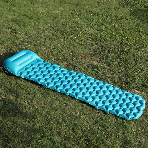 Inflatable Sleeping Mat - Turquoise
