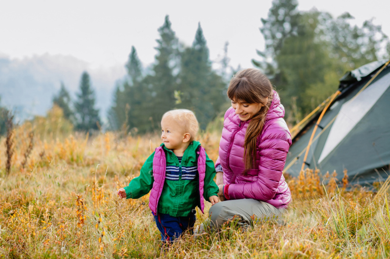 How to Hike with a Toddler - Mother and Child Enjoying Nature