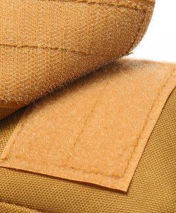 Travel Bum Bag Open / Close Velcro Khaki