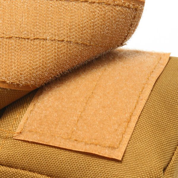 Travel Bum Bag Open / Close Velcro Khaki
