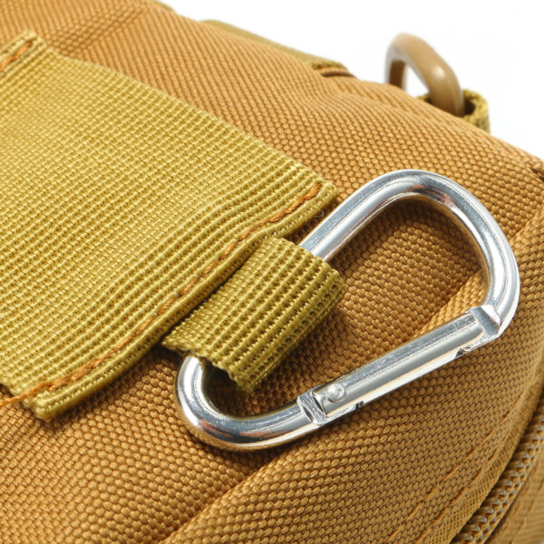 Travel Bum Bag Hook Khaki