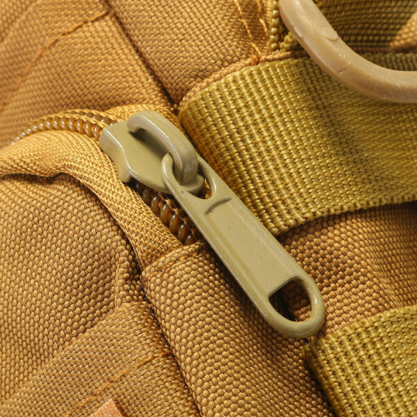 Travel Bum Bag Zip View Khaki