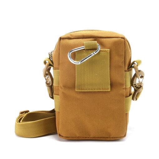 Travel Bum Bag Back View Khaki