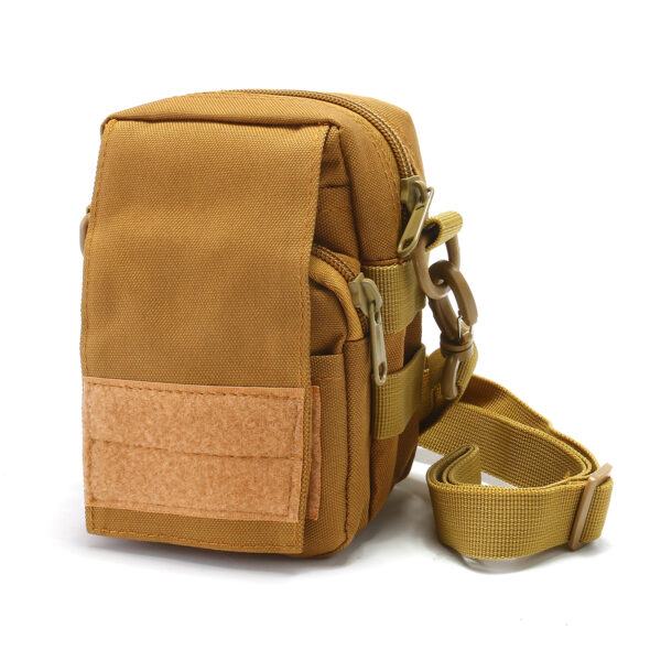 Travel Bum Bag Front View Khaki
