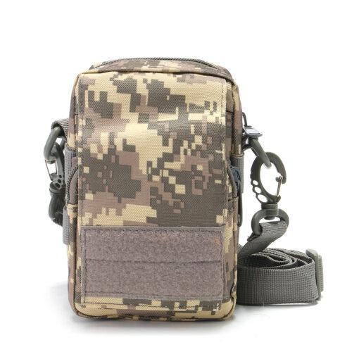 Travel Bum Bag Front View ACU