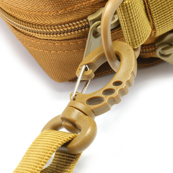 Travel Bum Bag Detachable Strap Khaki