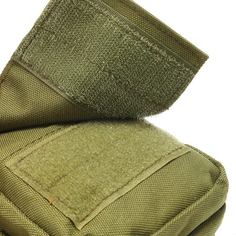 Travel Bum Bag Closing Velcro - Army Green