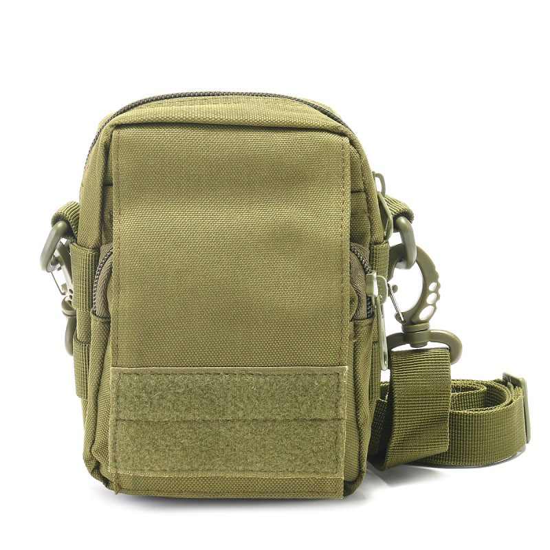 Travel Bum Bag Front - Army Green