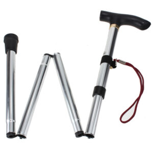 4 Section Foldable Walking Stick
