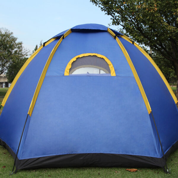 pop up tent back window