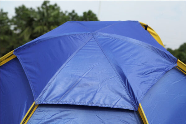 4 man pop up tent top roof protection