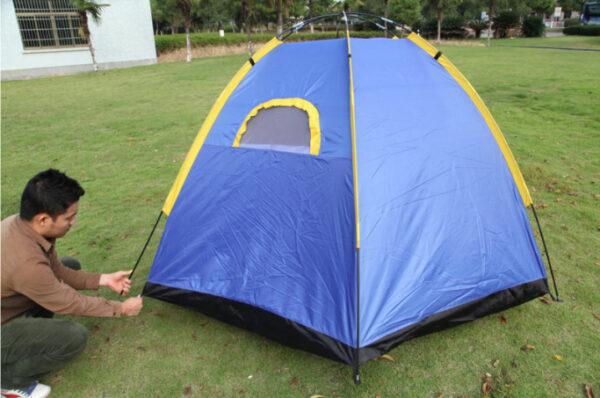 4 man pop up tent set up