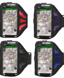 Running Armbands - Red, Purple, Black, Blue