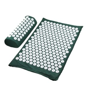 Acupressure Mat & Pillow - Green