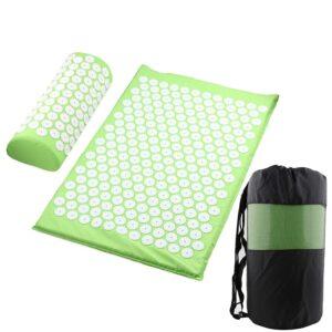Acupressure Mat, Pillow & Bag - Lime Green