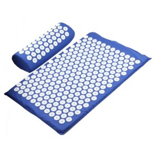 Acupressure Mat & Pillow - Blue