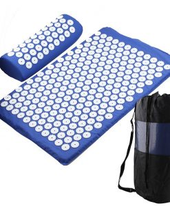 Acupressure Mat, Pillow & Bag - Blue