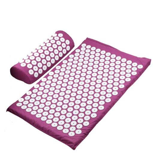 Acupressure Mat & Pillow - Purple