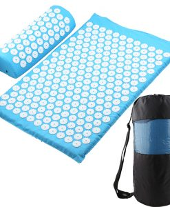 Acupressure Mat, Pillow & Bag - Sky Blue