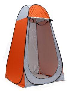 Camping Toilet Tent Orange