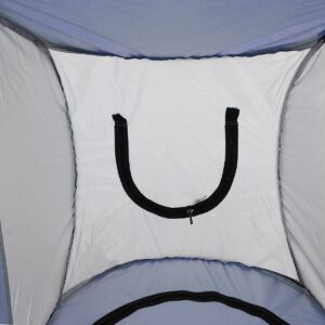 Pop-up Camping Toilet Tent Inside