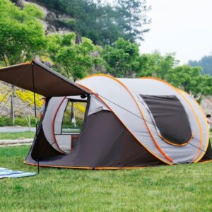 5 Man Pop Up Tent / 5-8 People / Large Family Camping / Waterproof / UV Resistance